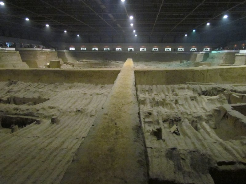 Terracotta warriors - Pit 2