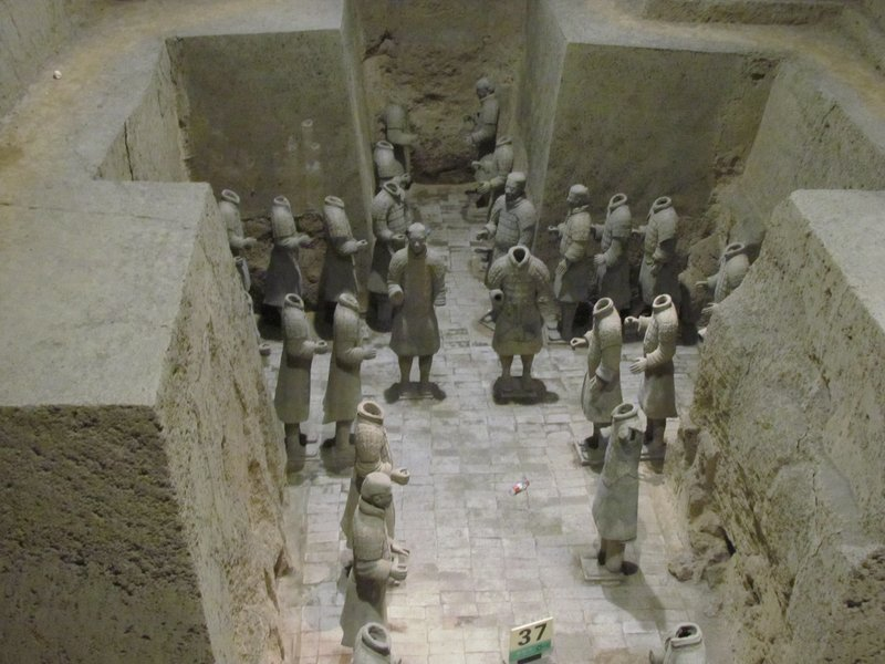Terracotta warriors - Pit 3