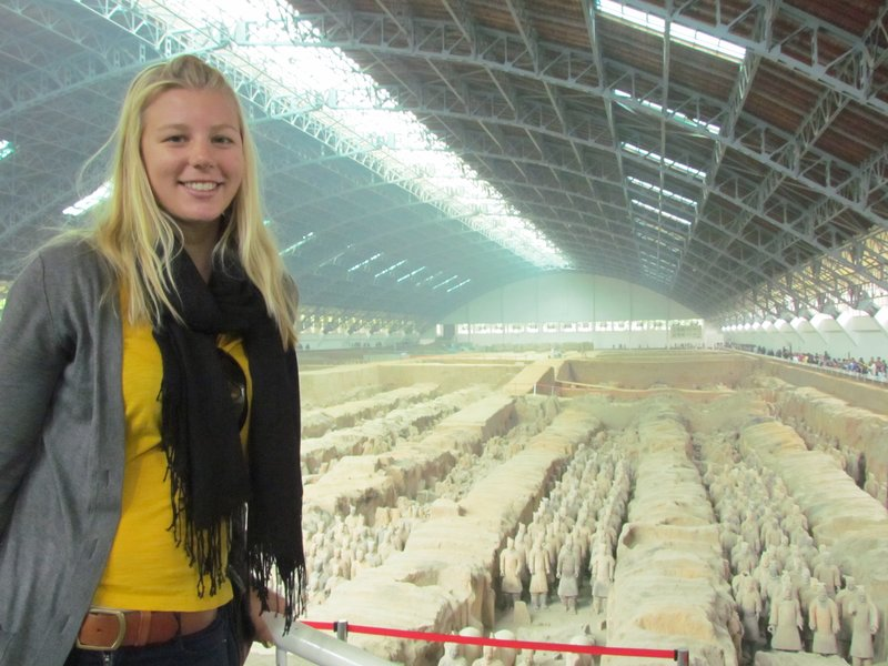 Terracotta warriors - Pit 1