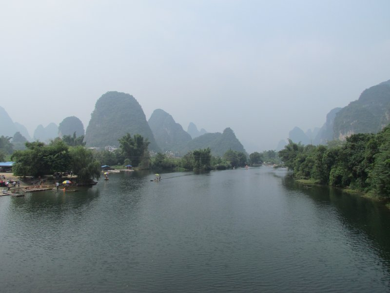 Yulong river, yanshuo