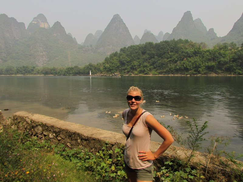 On the yangshuo hike