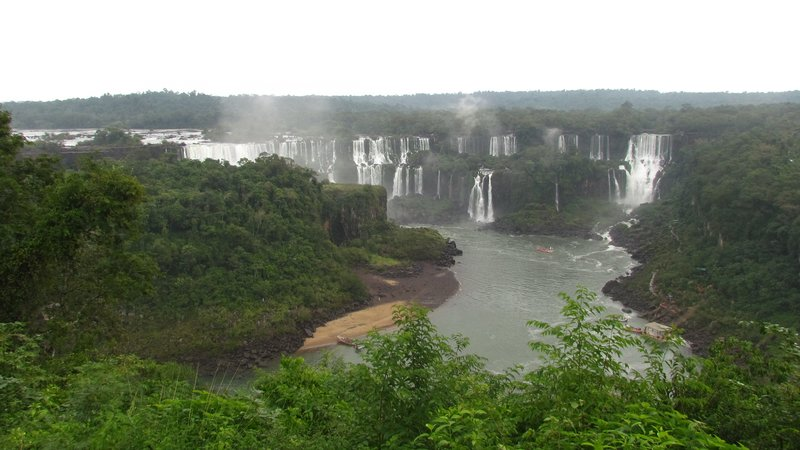 The Argentinian waterfalls