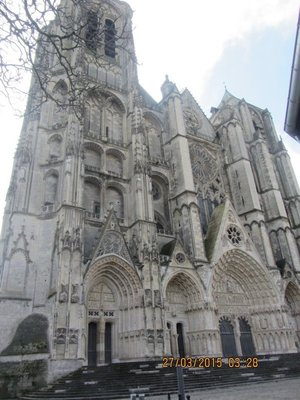 Cathédrale Saint-Étienne in Bourges