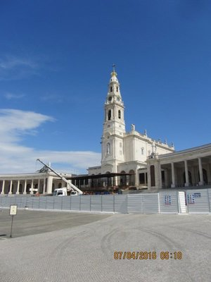 Fatima Church closed for repairs