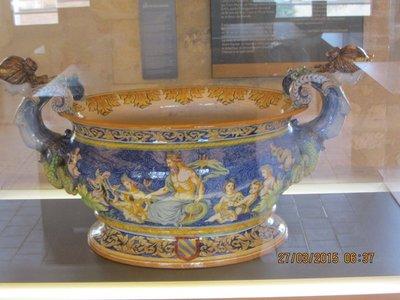 Ceramic atrwork in the museum