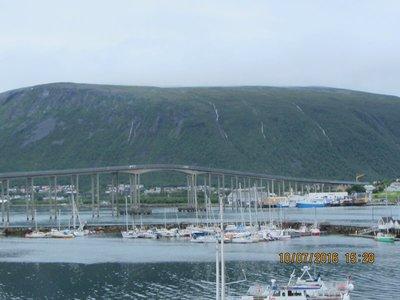 Famous Tromso Cantilever Bridge