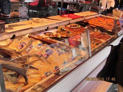 Fish Stall at Bergen Fish Market