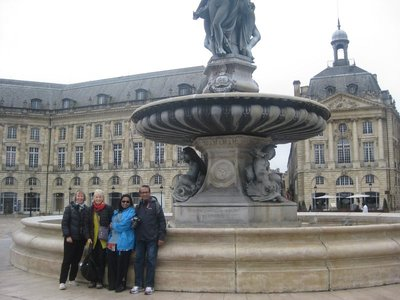 Four of us in Bordeaux