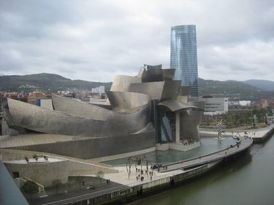 Guggenheim Museum from a distance