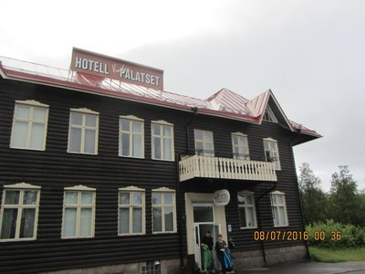 Hotel Vinter Palatset in Kiruna