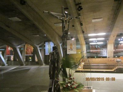 Underground Basilica in Lourdes