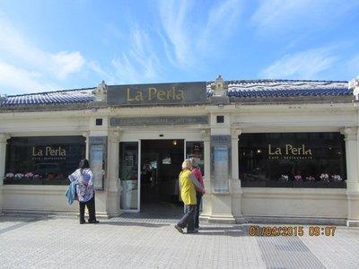 La Perla restaurant on La Concha Beach