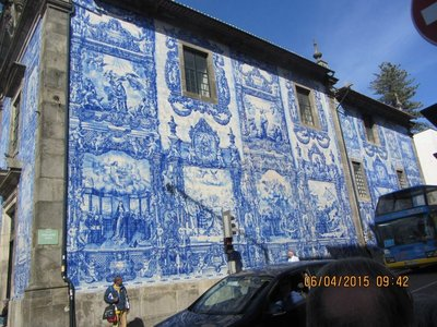 The Blue House in Porto