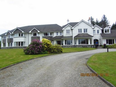 Loch Lein Country house, our hotel in Killarney