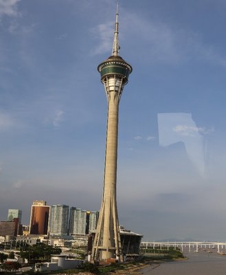 Macau Tower from a distance