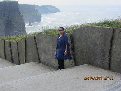 Mala near Cliffs of moher