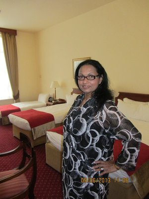Mala in Galway Bay Hotel room
