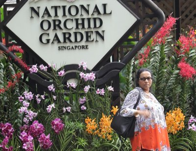 Mala near Orchid Garden Entrance