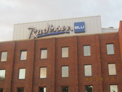 Radisson Blu hotel at the Arlanda airport