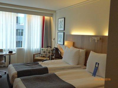 Radisson Blu hotel room