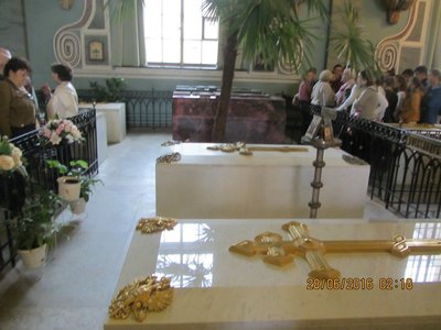 Royal Tombs inside the Peter and Paul Church
