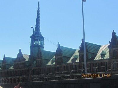 Stock Exchange building in Copenhagen