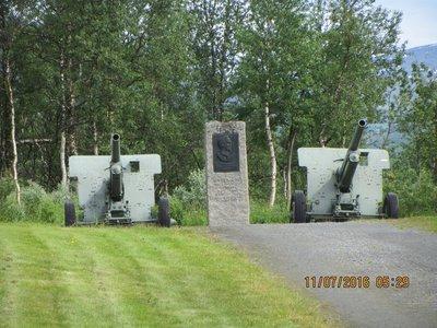 War Memorial near Narvik