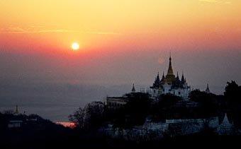Pagodas in Burma