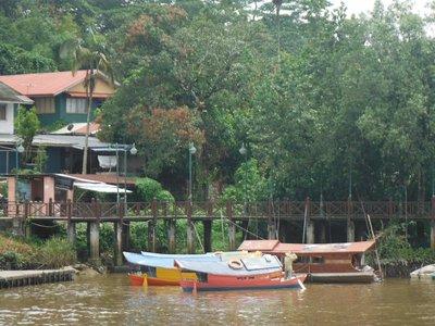 Sampan in Kuching
