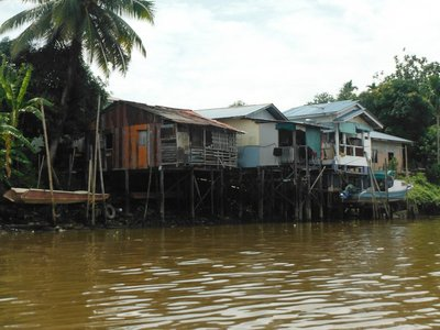 Typical house in Kuching