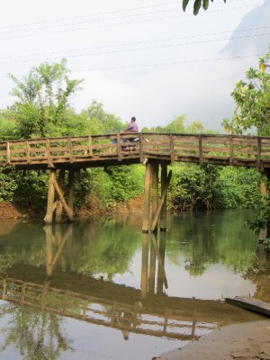 Bridges of Vang Vieng
