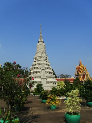 Palace Garden in Phnom Penh