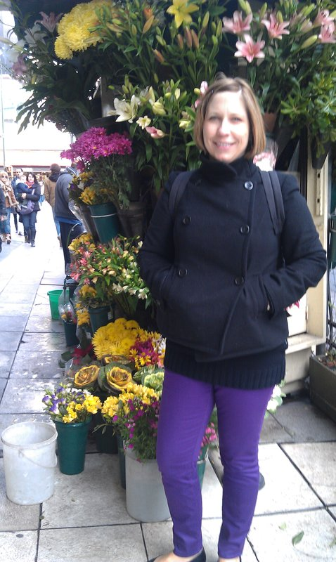 Me and flowers