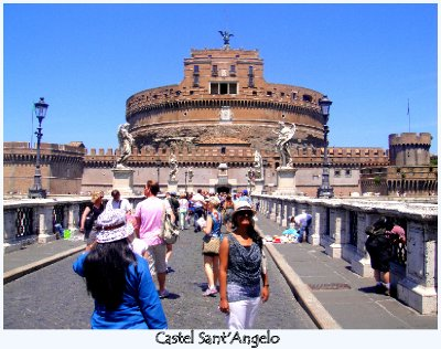 Mausoleum of Hadrian at Castel Sant'Angelo