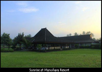 Manohara Sunrise