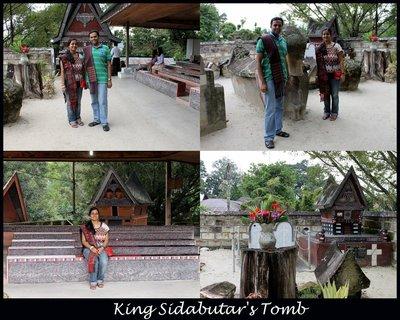 King Sidabutar's Tomb