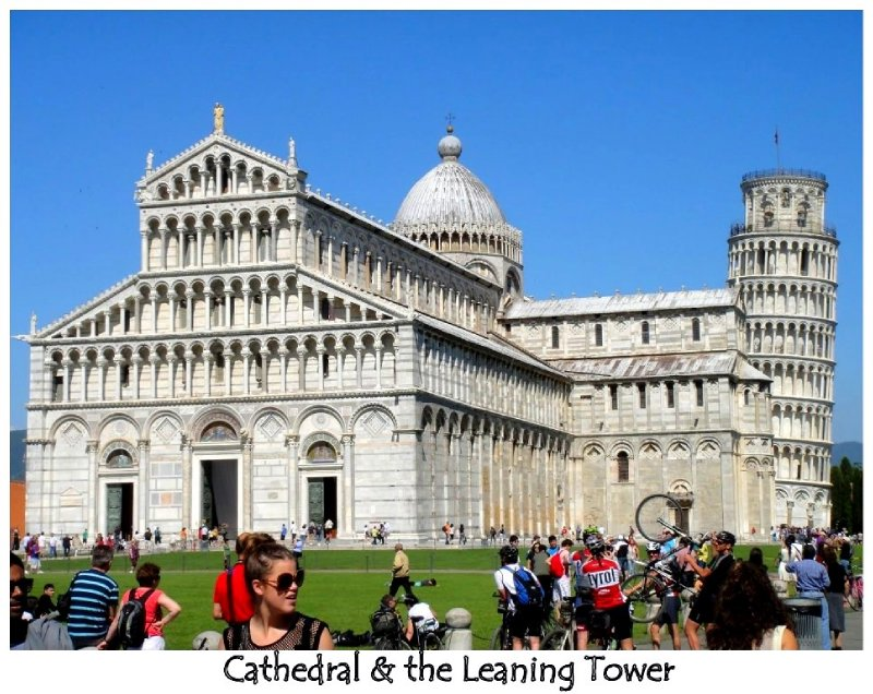 Cathedral & Leaning Tower