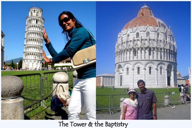 Leaning Tower & Baptistry