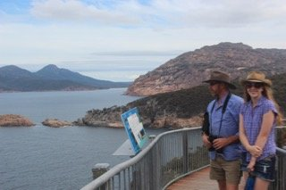 Cape Tourville in Freycinet National Park