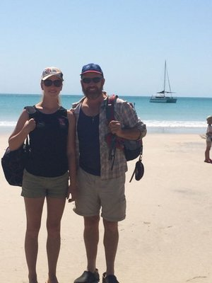 Broome - Whale watching - Finally!!