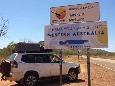 Leaving WA?  Only for a short time to visit Keep River National Park