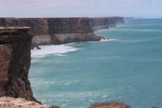 The Cliffs along the Nullarbor