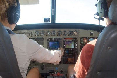 Rory flying to Horizontal Falls!!