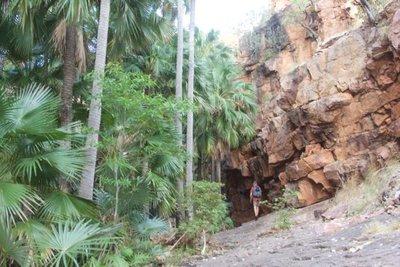 Trekking into El Questro Gorge