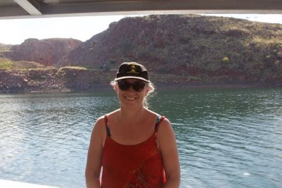 Lake Argyle cruise