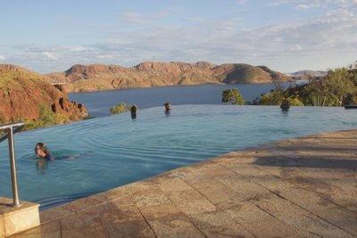The iconic Infinity Pool