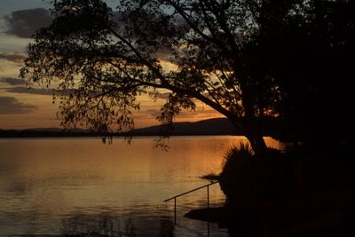 Another beautiful sunset. Over Lake Kunnunurra this time.