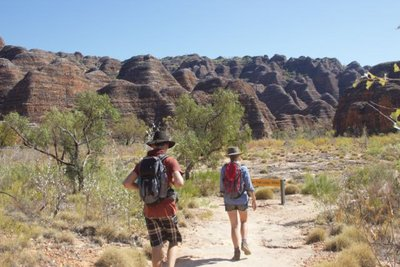 Cathedral Gorge walk in the southern end of Purnululu NP