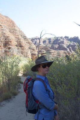 A walk into Cathedral Gorge, Purnululu NP