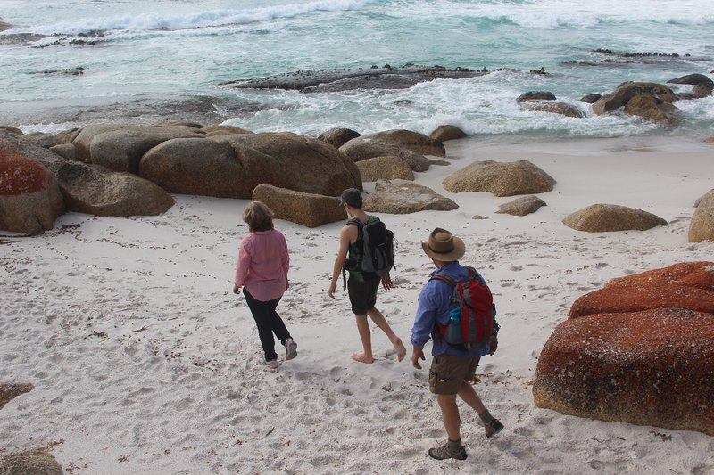 Cosy Corner beach walk, Bay of Fires Tasmania